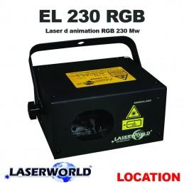 LASERWORLD - EL 230 RGB