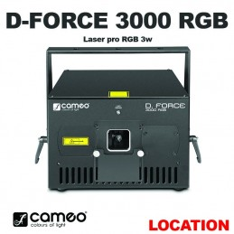 CAMEO - DFORCE 3000 RGB