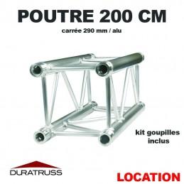 DURATRUSS - POUTRE 200 CM ALU