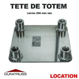 DURATRUSS - TETE DE TOTEM ALU