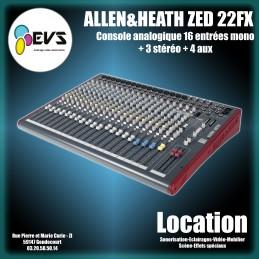 ALLEN & HEATH - ZED 22 FX