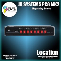 JB SYSTEMS - PC8 MK2
