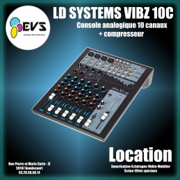 LD SYSTEMS - VIBZ 10C