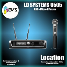 LD SYSTEMS - U505 HHD