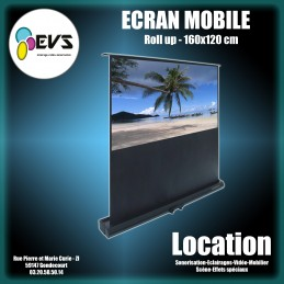 ECRAN ROLL UP 160x120