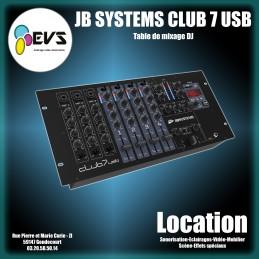 JB SYSTEMS - CLUB 7 USB