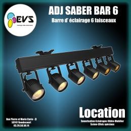 ADJ- SABER BAR 6