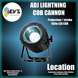 ADJ - LIGHTNING COB CANNON