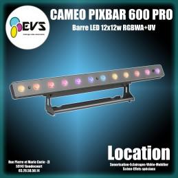 CAMEO - PIXBAR 600 PRO