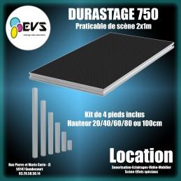DURASTAGE 750 - 2x1M