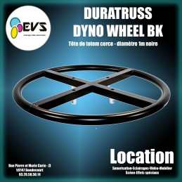 DURATRUSS -  DYNO WHEEL BLACK
