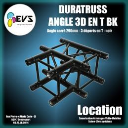DURATRUSS - ANGLE 3D T BLACK
