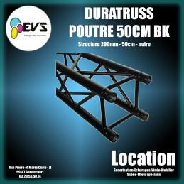 DURATRUSS - POUTRE 50 CM NOIRE