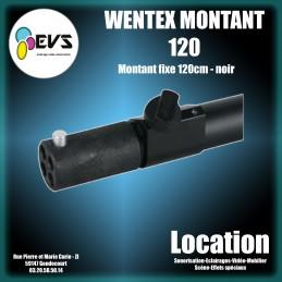 WENTEX - MONTANT FIXE 120 cm