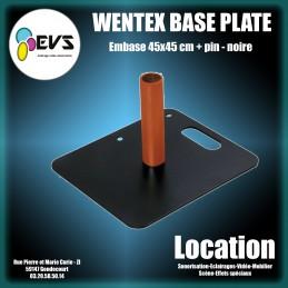 WENTEX - BASE PLATE 45X45