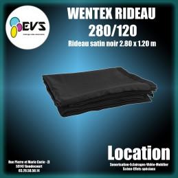 WENTEX - RIDEAU NOIR 280/120