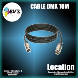 CABLE DMX 10M