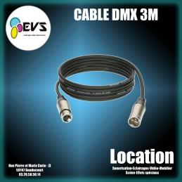 CABLE DMX 3M