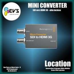 BLACKMAGIC - MINI CONVERTER...