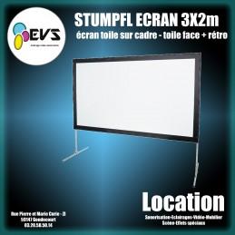STUMPFL - ECRAN 3X2M