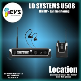 LD SYSTEMS - U508 IEM HP