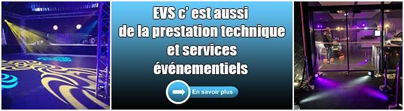 Nos services événementiels